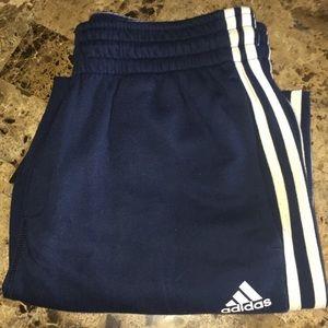 Adidas Navy Medium Sweat Shorts